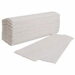 White M Fold Tissue, For Restaurant, Packet