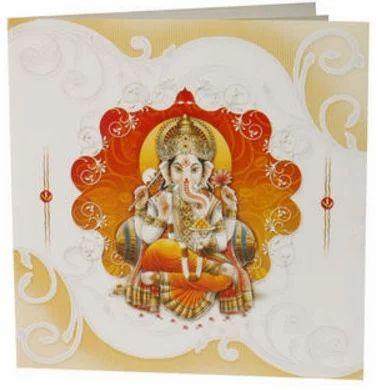Hindu card at rs 450 anniversary invitation card personalized hindu card stopboris Choice Image