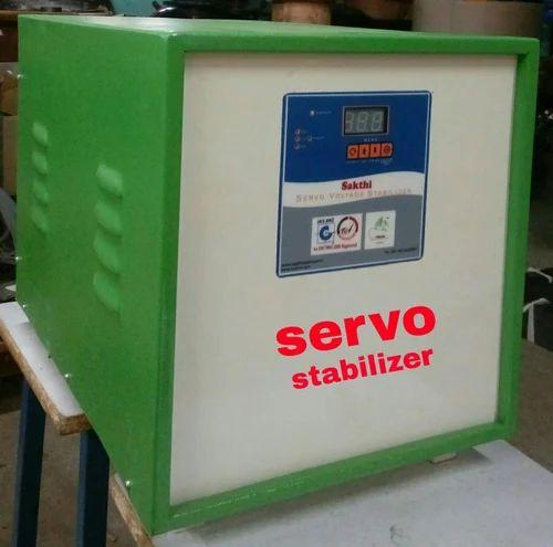 Single Phase Servo Stabilizer 5kva Rs 11500 Piece