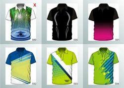 Printed and Plain Half Sleeves and Sleeveless Sports T Shirts