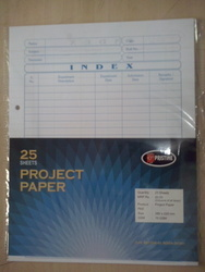 Project Paper Sheets