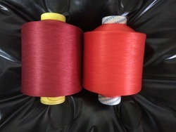 80/0 Polyester Textured Dyed Yarn