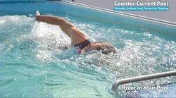 Hydrotherapy Fiberglass Pool, 5-7 Feet