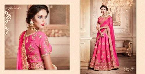 Light Pink Colour With Gota Patti Lehenga Choli