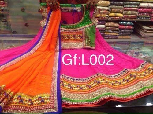 58667457ad Georgette Designer Semi-Stitched Navratri Chaniya Choli, Rs 2650 ...