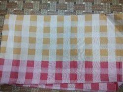 Cotton Two Piece Checks Shirts Fabric