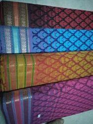 Cotton Printed, Border Designed Saree