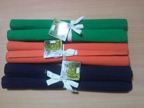 Mat Amp Rugs Colour Cotton Place Mat Manufacturer From Erode