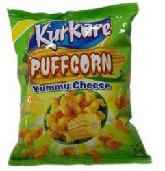 Puffcorn Yummy Cheese