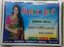 polyester saree fall