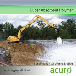 Super Absorbent Polymer for Solidification Of Waste Sludge