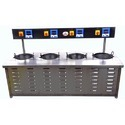 Stainless Steel Induction Appam Kadai, For Commercial