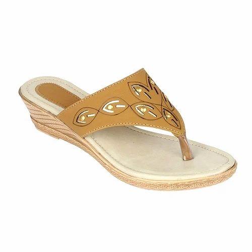 Ladies Fancy Platform Slipper, Ladies