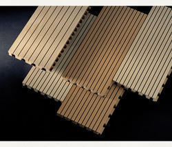 Wooden Slated Acoustic Panels