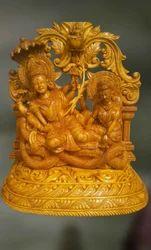 Wooden Sculpture of Vishnu-Togetherness of the Divine