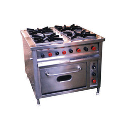 Four Gas Burner with Oven