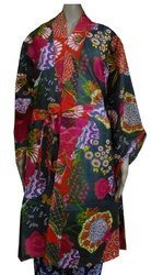 Cotton Printed Bathrobe Gown