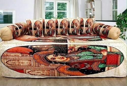 Designer Diwan Bed Sheet Set