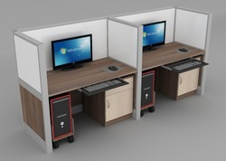 Modern Office Workstation
