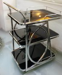 Room Service Trolley With SS Frame