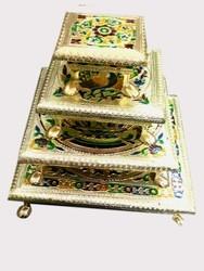 Rajwadi Wooden Chowki