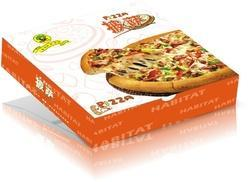 Printed Mono Carton Pizza Box
