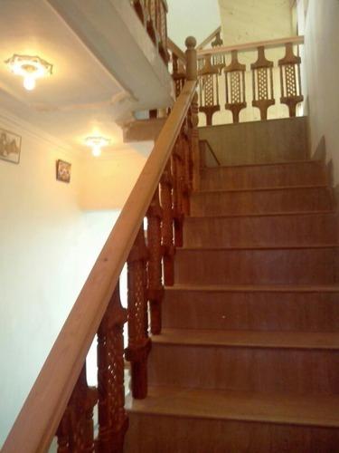 Teak Wood Stairs Wooden Railing Rs 220 Foot Sunrise
