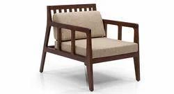 Wooden Reception Sofa