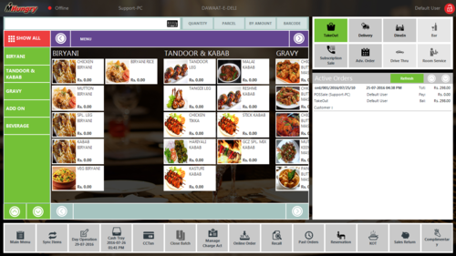 Posorbis Restaurant Billing Inventory Pos Software Id