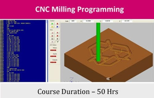 Technology Courses - CNC Milling Programming - 1 Month CAM