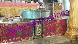Acrylic Chaat Counter