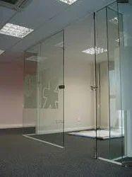 Transparent Door Glass