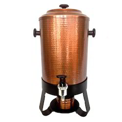 Antique Copper Finished Tea/Coffee/Water/Milk Urn