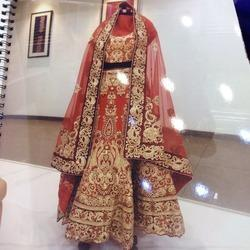 Bridal Embroidery Hand Work for Lehenga