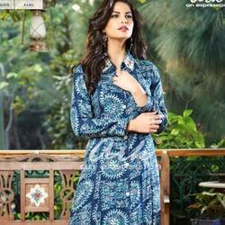 Rayon Kurti Party Wear