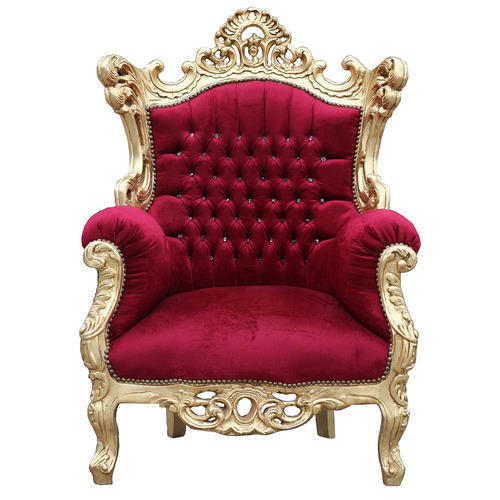 Attrayant Wooden King Size Chair