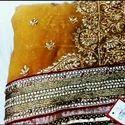 Yellow Kanjiwaram Saree