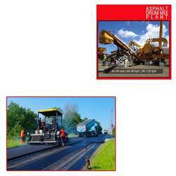 Asphalt Drum Mix Plant for Road Construction
