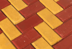 8/4 Brick Size Interlocking Tile 80mm