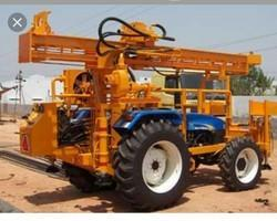 Jay Ambe Industries Borewell Tractor Drilling Rig Machine