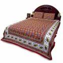 Jaipuri Elephant Double Bed Sheet Set 27R