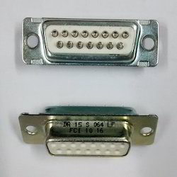 15- Pin- D Type- Female- PCB- Mount Connector