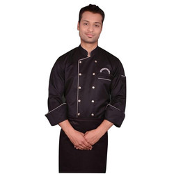 Black Chef Uniform