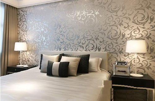 Wall Paper Designing Service Living Room Wallpaper