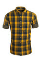 Urban Design Yellow Checked Casual Shirts