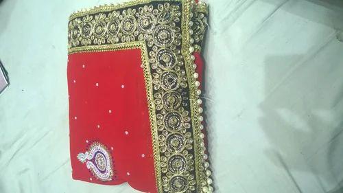 87992217bf Pure Chiffon Casual Wear Chiffon Saree, With Blouse Piece, Rs 3000 ...