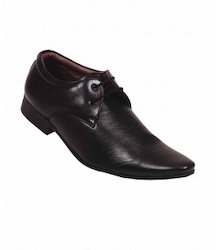 Limerence Black Leather Shoes