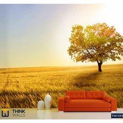 Horizontal 3D Nature Wallpaper, Rs 80 /square feet, Think Walls