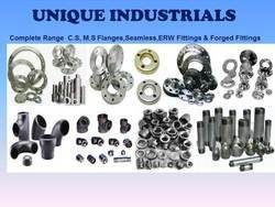 MS SS Pipe Fittings, Flanges And Nipples