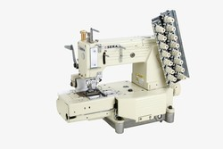 Cylinder Bed Elastic Attaching Sewing Machine